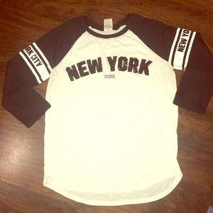 🎊Pink VS 3 quarter shirt ..